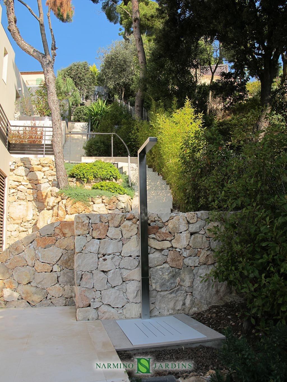 Travaux d'aménagement paysages proche de Beaulieu sur Mer par Narmino Jardins