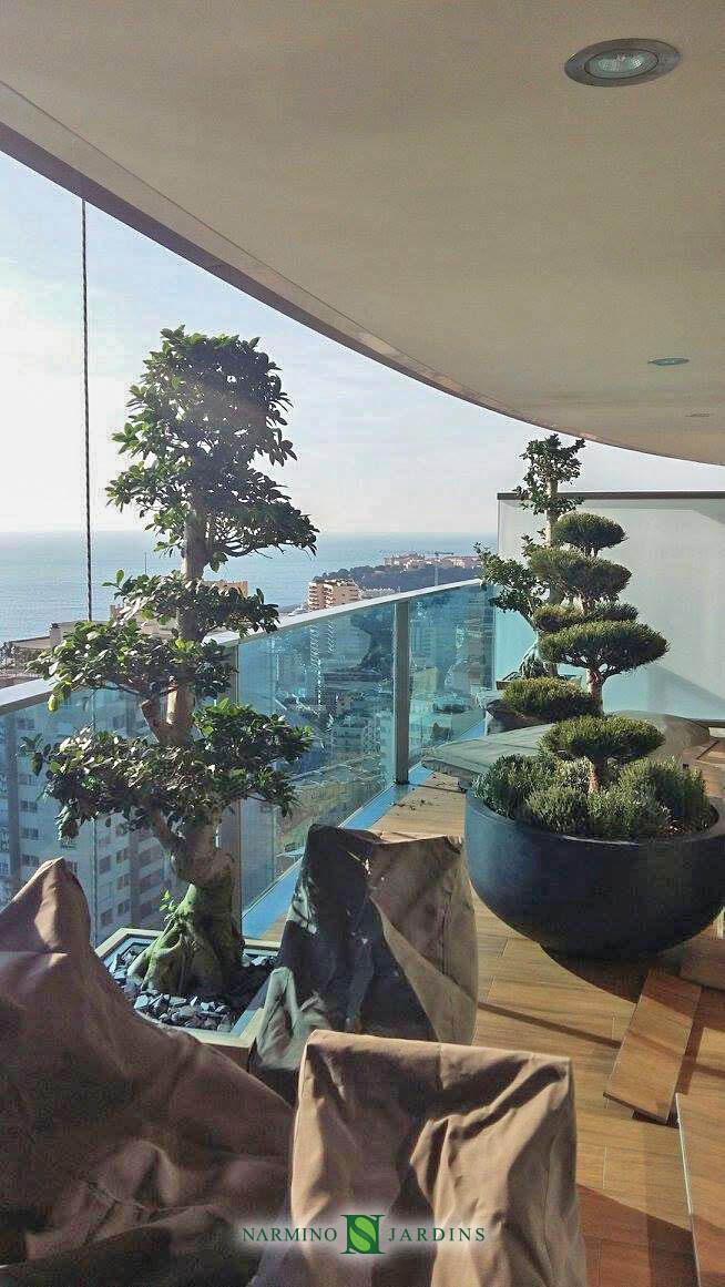 Réalisation et entretien d'un balcon sur la Tour Odeon à Monaco