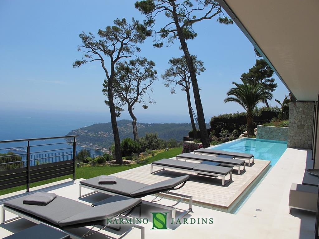 Belle vue au dessus du Cap Ferrat
