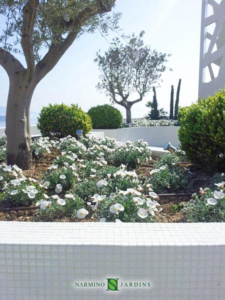 Jardinière à Monaco