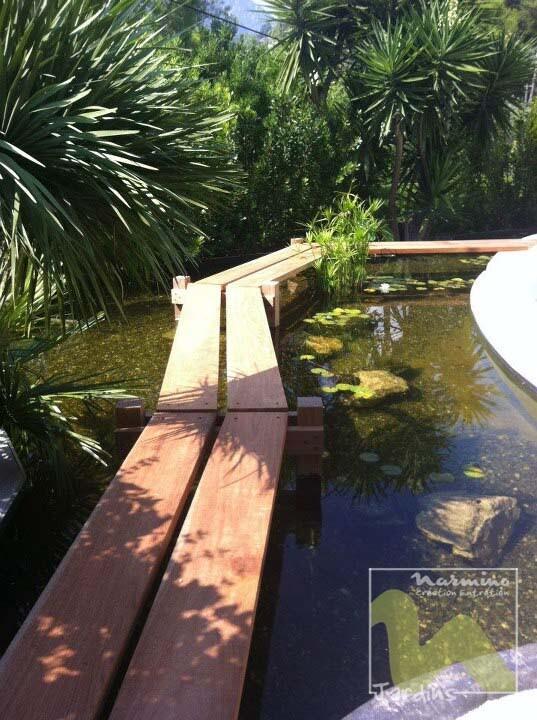 Réalisation d\'un bassin pour Carpes Koi – Narmino Jardins