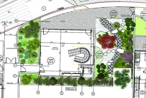 Plan de l'immeuble le Stella
